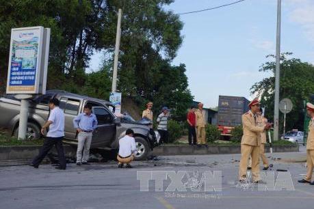 Tp. Hồ Chí Minh: Ô tô gây tai nạn liên hoàn khiến nhiều người bị thương