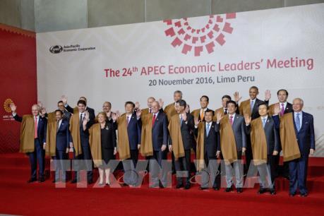Hội nghị APEC 2016: Các nước châu Á-TBD cam kết chống chủ nghĩa bảo hộ