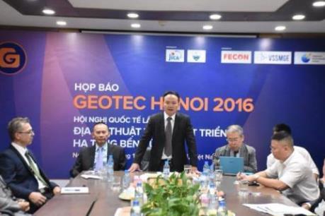 Hội nghị quốc tế về địa kỹ thuật và hạ tầng sẽ diễn ra từ ngày 24-25/11
