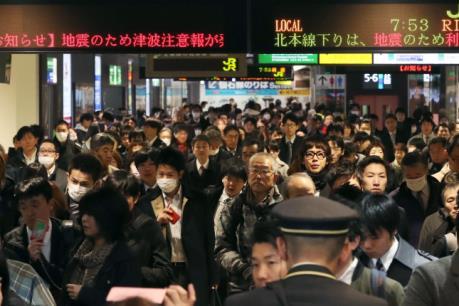 Cập nhật tin động đất ở Nhật Bản: Xuất hiện sóng thần ở Fukushima