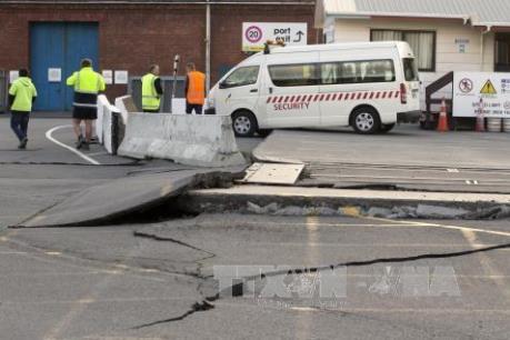 Động đất mạnh 6,3 độ Richter ở New Zealand