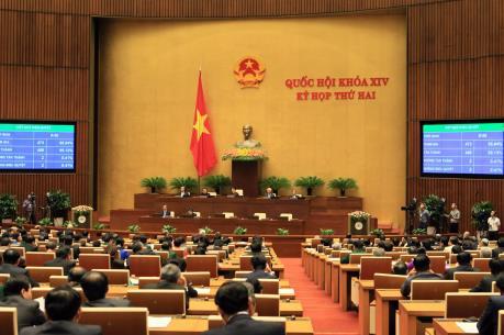 Bế mạc Kỳ họp thứ hai, Quốc hội khóa XIV