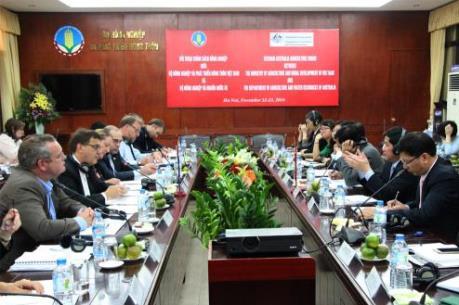 Thành lập nhóm công tác thúc đẩy thương mại nông lâm thủy sản Việt Nam - Australia