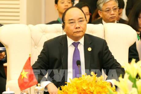 Thủ tướng Nguyễn Xuân Phúc dự Hội nghị Cấp cao Khu vực Tam giác phát triển CLV lần thứ 9