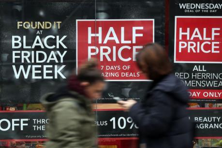 """Người Mỹ thờ ơ với ngày mua sắm """"Black Friday"""""""