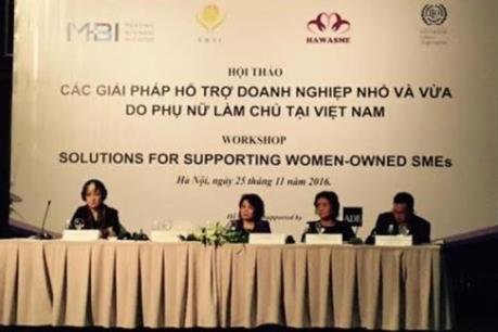 Bàn giải pháp hỗ trợ doanh nghiệp nhỏ và vừa do phụ nữ làm chủ