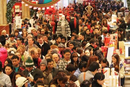 NRF: Doanh thu bán hàng trong mùa mua sắm năm nay của Mỹ ước đạt 655,8 tỷ USD