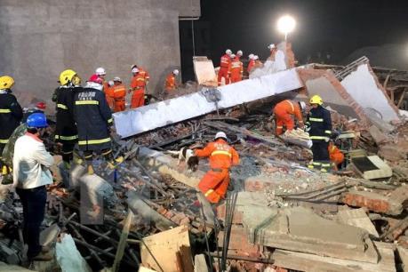 Trung Quốc bắt giữ nhiều đối tượng trong vụ sập công trình gây thương vong lớn