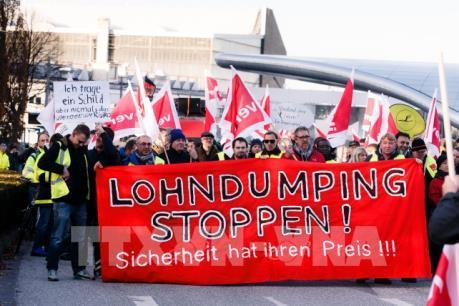 Cuộc đình công của phi công hãng Lufthansa chưa có dấu hiệu hạ nhiệt