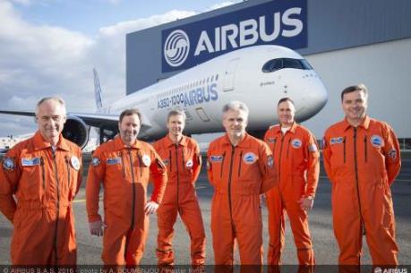Airbus cho bay thử nghiệm dòng máy bay hiện đại mới nhất A350 - 1000