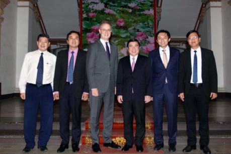 Tập đoàn Las Vegas Sand, Hoa Kỳ tìm kiếm cơ hội đầu tư tại Tp. Hồ Chí Minh