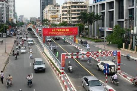 Phương án phân luồng giao thông nút giao Láng Hạ - Thái Hà