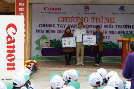 Canon khơi dậy ý thức bảo vệ môi trường cho học sinh
