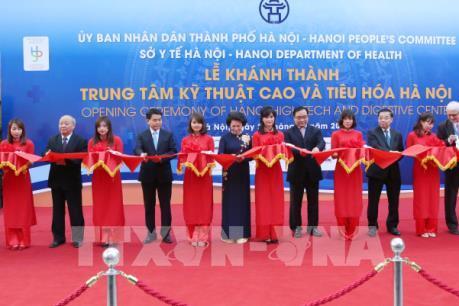 Hà Nội lần đầu tiên có Trung tâm y khoa kỹ thuật cao và tiêu hóa đạt tiêu chuẩn quốc tế