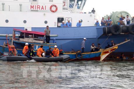 Bộ Giao thông Vận tải thông tin về công tác tìm kiếm cứu nạn tàu Thuận Phát 08