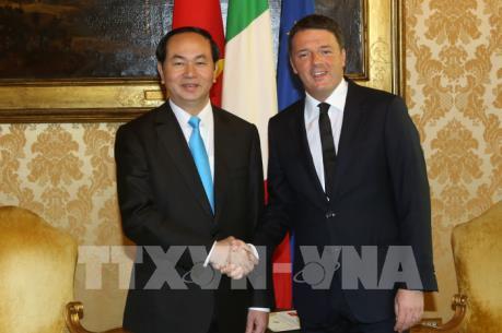 Việt Nam và Italy đặt mục tiêu nâng kim ngạch thương mại song phương lên 6 tỷ USD