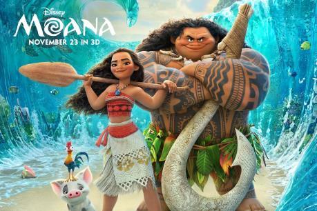 """Top 10 phim ăn khách: Bắc Mỹ chìm đắm trong hành trình biển khơi với """"Moana"""""""