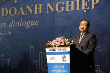 Bí thư Hoàng Trung Hải: Năm 2016 đánh dấu sự phát triển mạnh mẽ của doanh nghiệp Hà Nội