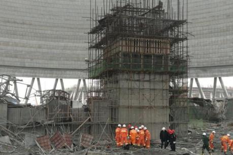 Trung Quốc: 9 đối tượng bị bắt sau vụ sập công trình xây dựng tại tỉnh Giang Tây