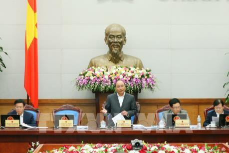 Thủ tướng yêu cầu sớm bắt tay vào thực hiện nhiệm vụ KTXH năm 2017