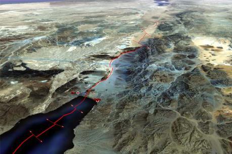 Jordan xây kênh đào nối Biển Đỏ với Biển Chết