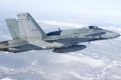 Máy bay chiến đấu của Canada gặp nạn