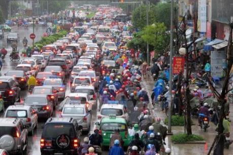 Hà Nội đề xuất các giải pháp giảm ùn tắc và tai nạn giao thông