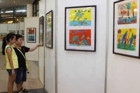 Việt Nam xuất sắc giành 8 giải thưởng vẽ nhật ký bằng tranh dành cho trẻ em châu Á