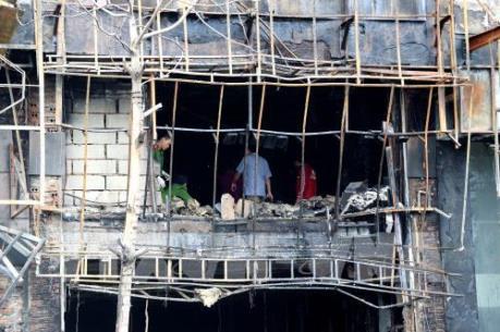 Vụ cháy quán karaoke ở Trần Thái Tông, Hà Nội: Cách chức, kỷ luật cán bộ liên quan