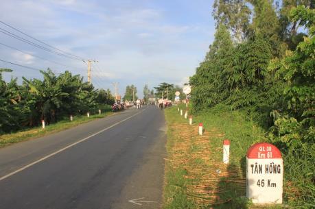 Phê duyệt Khung chính sách hỗ trợ tái định cư dự án nâng cấp Quốc lộ 30