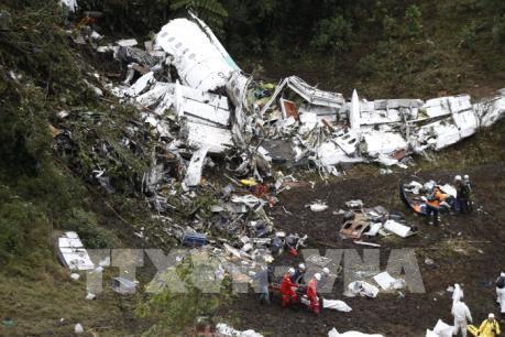 Giới chức Colombia công bố nguyên nhân vụ rơi máy bay