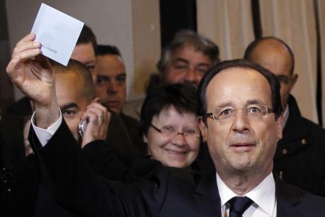 Tổng thống Pháp Francois Hollande tuyên bố không tranh cử nhiệm kỳ hai