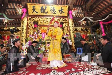 Tín ngưỡng thờ Mẫu Tam phủ được UNESCO công nhận là Di sản văn hóa phi vật thể
