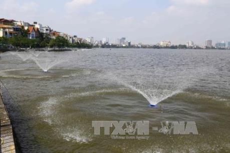 Hà Nội mở rộng phạm vi xử lý nước hồ ô nhiễm tại các huyện ngoại thành