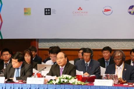 Thủ tướng Nguyễn Xuân Phúc: Gắn kết và cùng hợp tác để phát triển lớn mạnh
