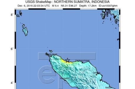 Động đất mạnh 6,8 độ Richter tại Indonesia