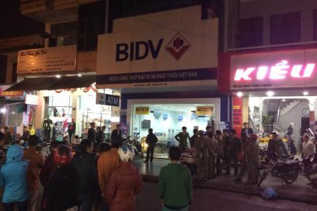 BIDV lên tiếng về vụ cướp tiền tại Chi nhánh Thừa Thiên Huế