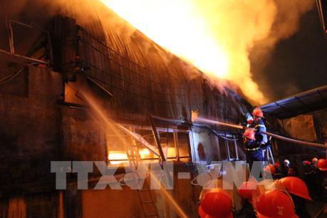 Thông tin mới về vụ cháy lớn tại La Phù, Hà Nội
