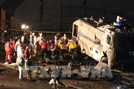 Vụ đánh bom ở Thổ Nhĩ Kỳ:  Gần 200 người thương vong