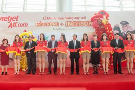 Vietjet tiếp tục mở rộng mạng đường bay Hải Phòng – Seoul (Hàn Quốc)