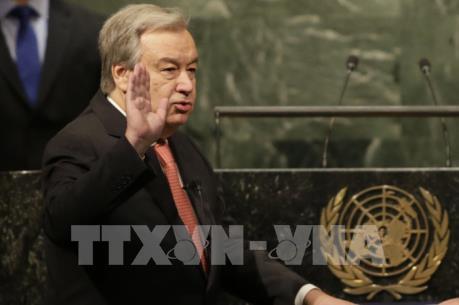 Tân Tổng thư ký LHQ António Guterres cam kết cải tổ LHQ