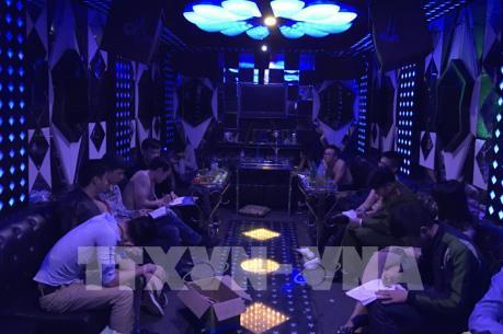 Đột kích quán karaoke Hải Phòng, thu giữ lượng lớn ma túy