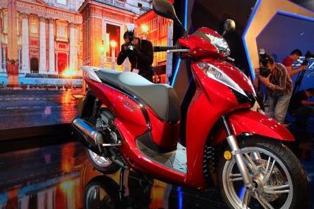 Honda Việt Nam chính thức ra mắt SH300i ABS nhập khẩu