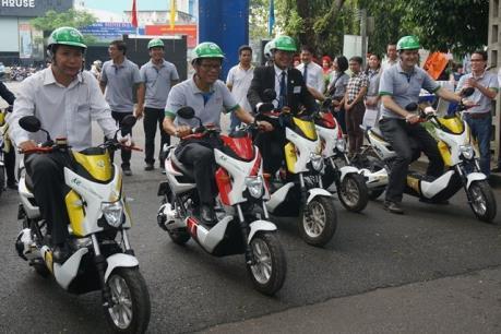 Khánh thành hệ thống xe máy điện cộng đồng thứ ba tại Việt Nam