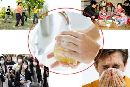 Cách phòng tránh cúm A (H1N1) khi thời tiết chuyển mùa