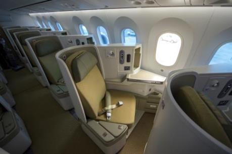 Vietnam Airlines là Hãng hàng không có thiết kế ghế khoang Thương gia đẹp nhất