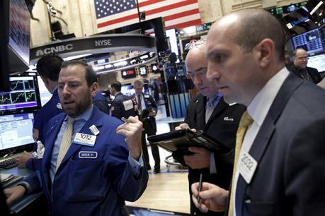 Các cổ phiếu ngân hàng dẫn dắt đà tăng của chứng khoán Mỹ