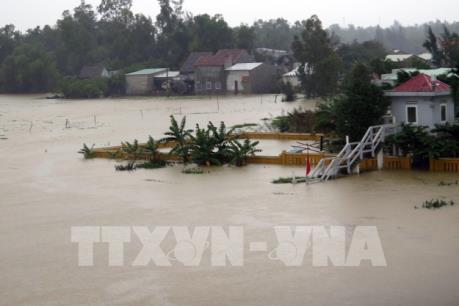 Cập nhật tình hình mưa lũ tại các tỉnh miền Trung