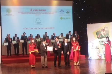 Tôn vinh 79 sản phẩm, đơn vị góp phần phát triển nền nông nghiệp Việt