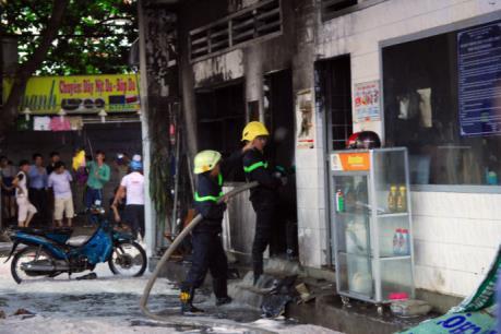 Cháy cây xăng quận Gò Vấp, Tp Hồ Chí Minh
